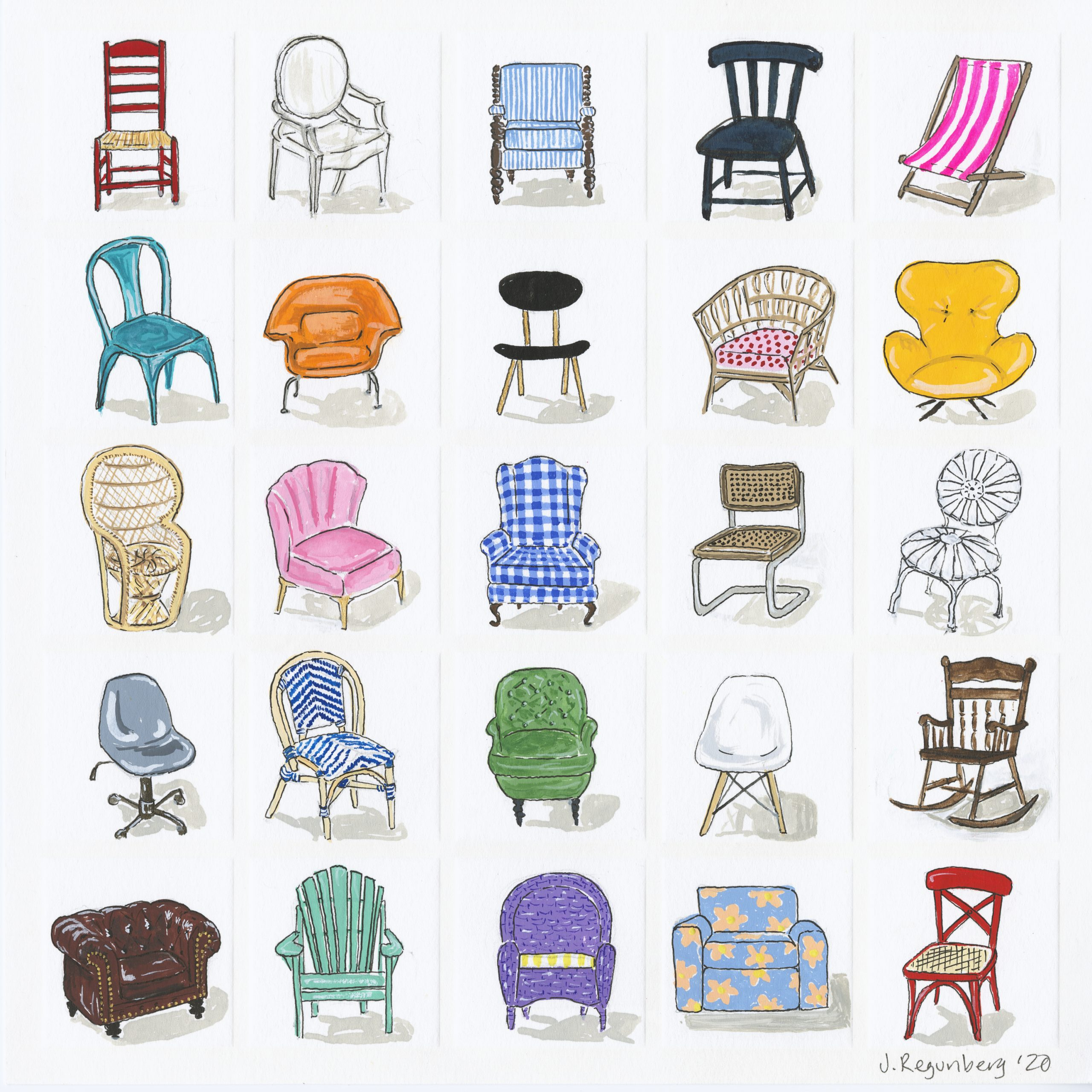 C is for Chairs