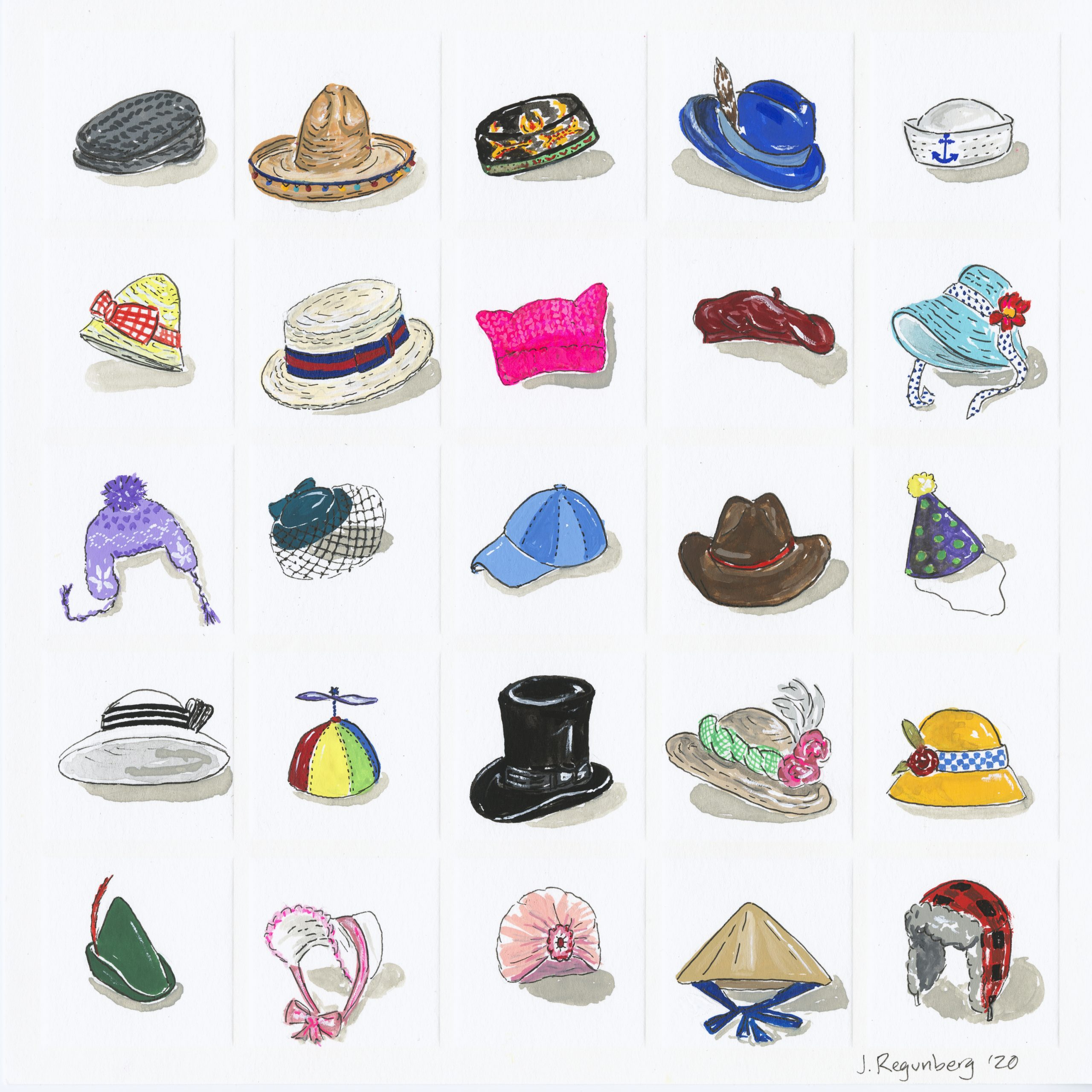 H is for Hats