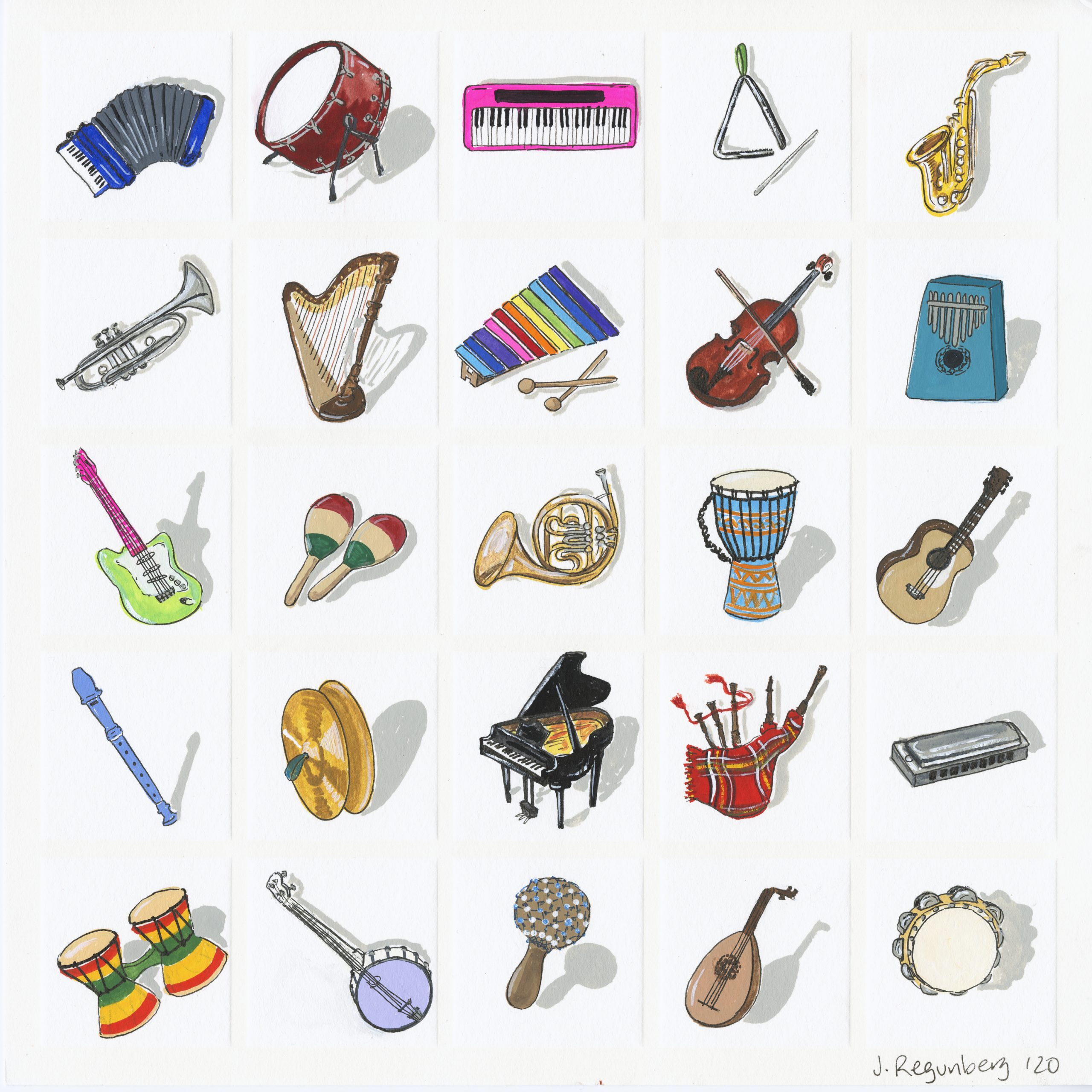 I is for Instruments