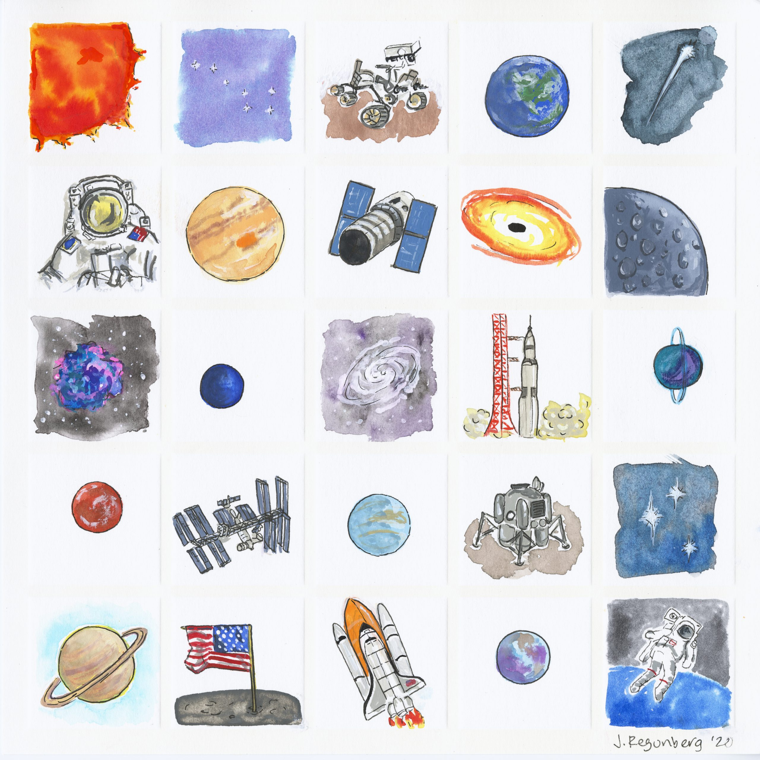 O is for Outer Space