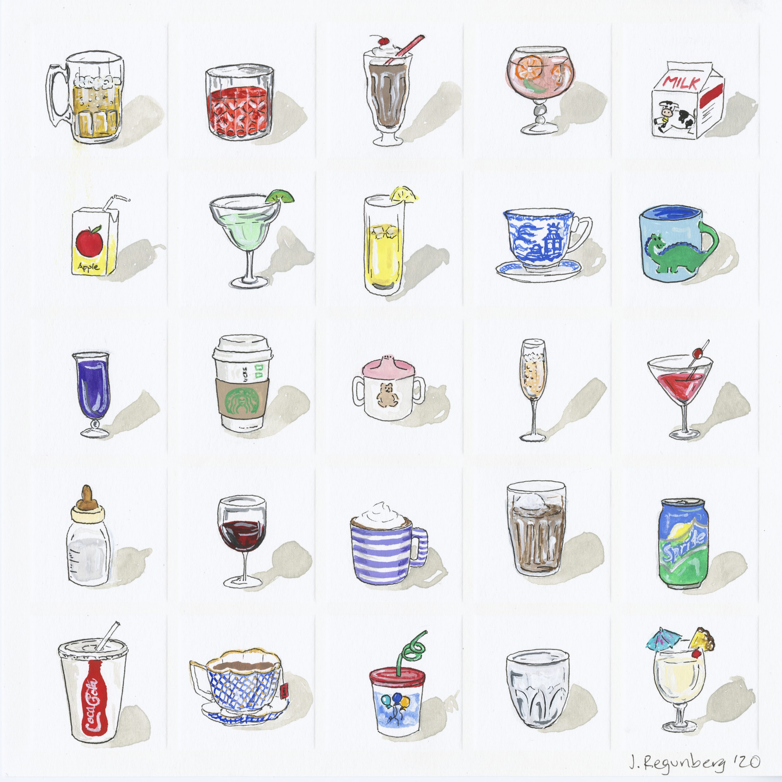 R is for Refreshments