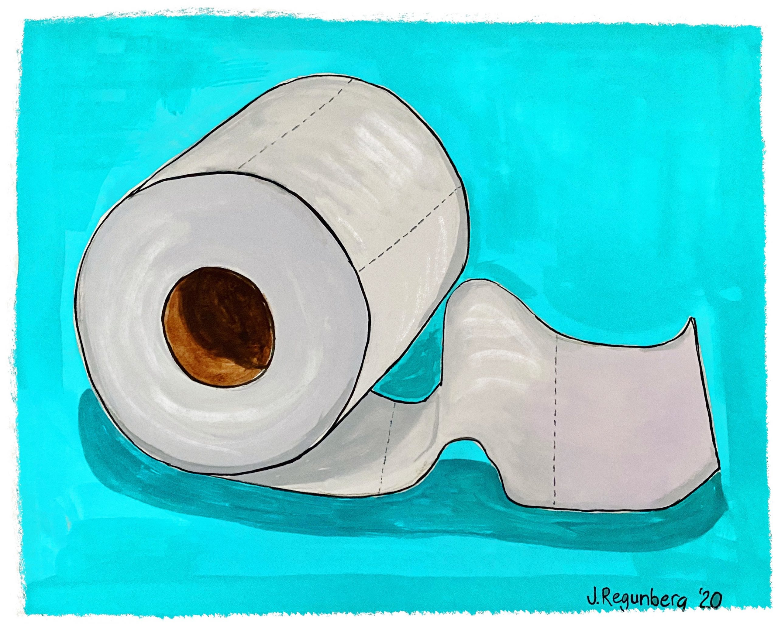 T is for Toilet Paper