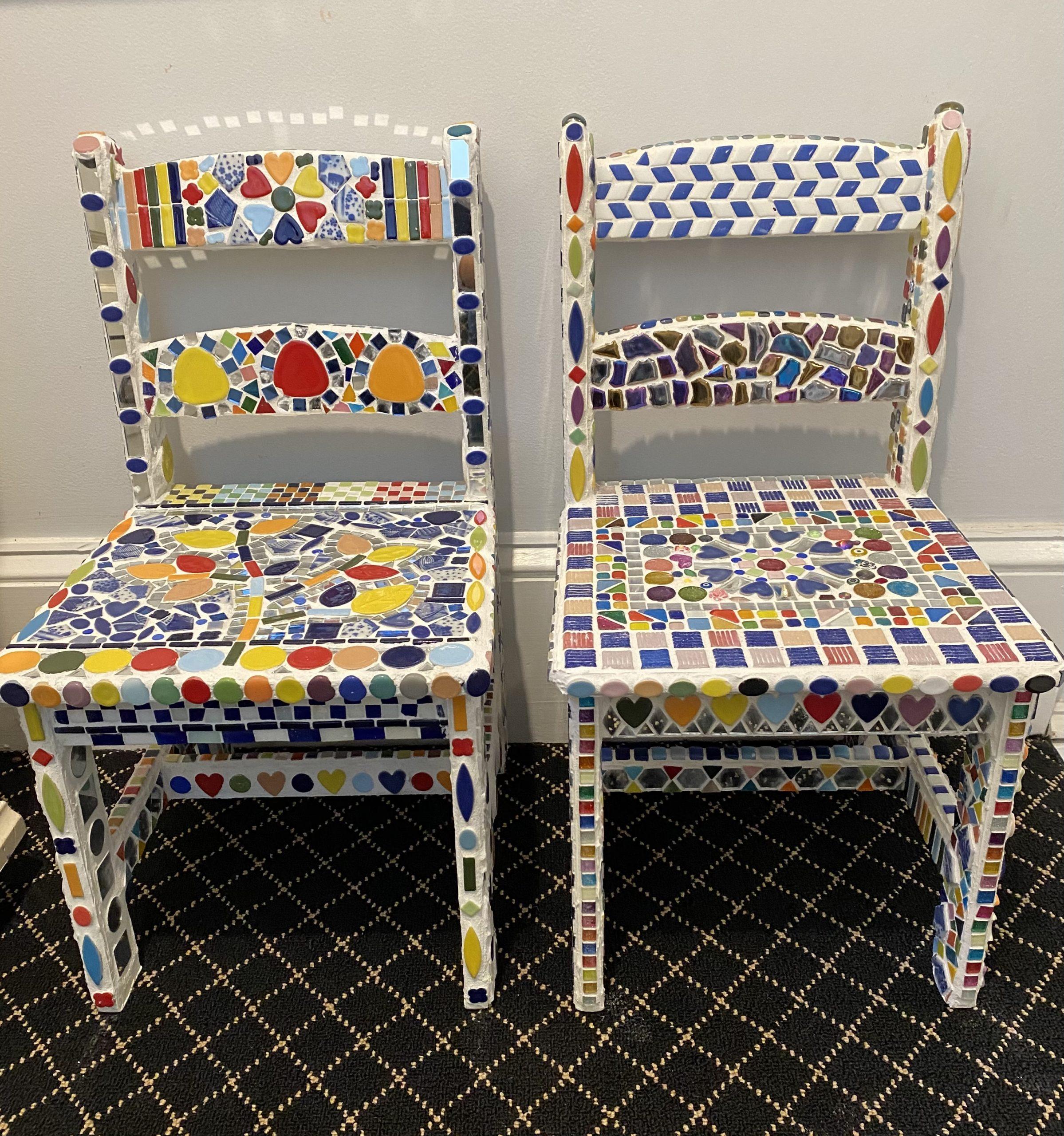 Mosaic Chairs